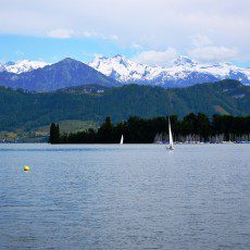Lucerne – Pogled na Alpe / A view of the Alps