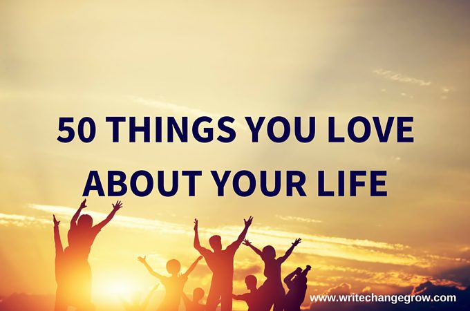 50-Things-You-Love-About-Your-Life